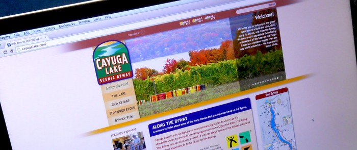 Cayuga Lake Scenic Byway Website