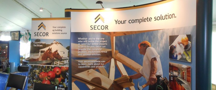 Secor Display at Farm Days