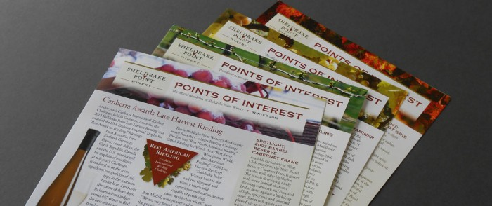 Sheldrake Points of Interest Newsletter Mastheads