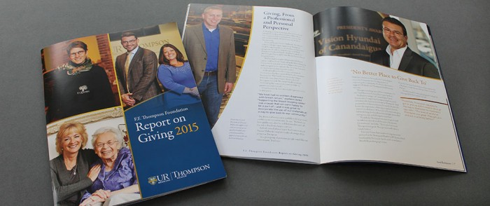 2015 UR Thompson Report on Giving