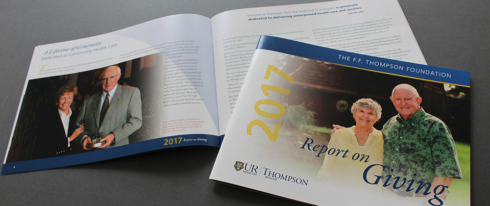 2017 F.F. Thompson Report on Giving