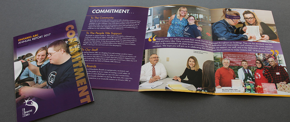 Ontario ARC 2017 Annual Report, Commitment