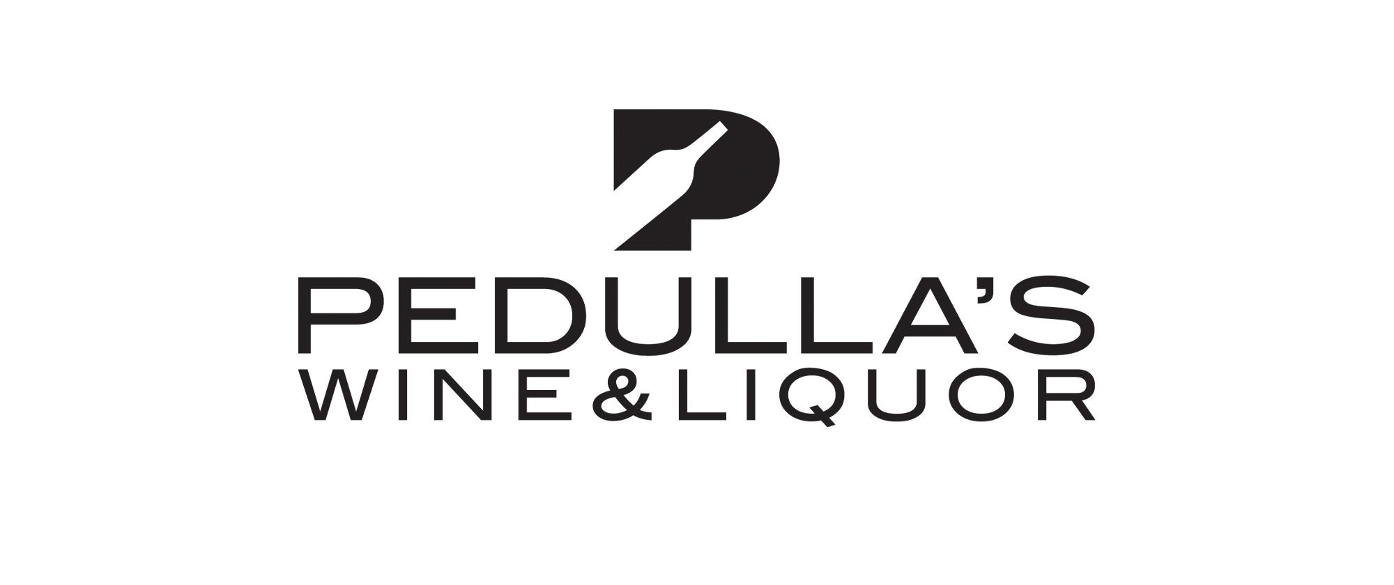 Pedullas Logo Vertical Black
