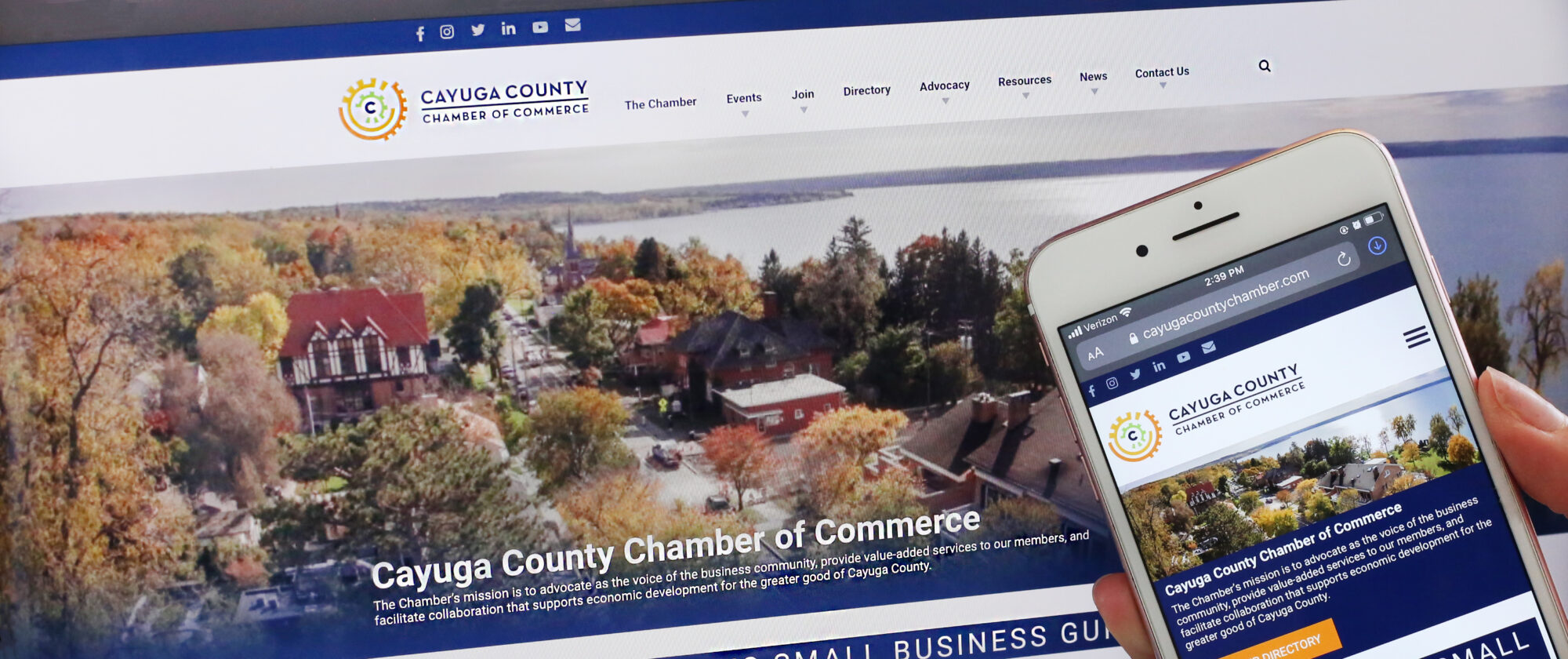 Cayuga Chamber Of Commerce Inhouse Websites