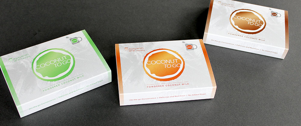 Coconut to Go Package Design