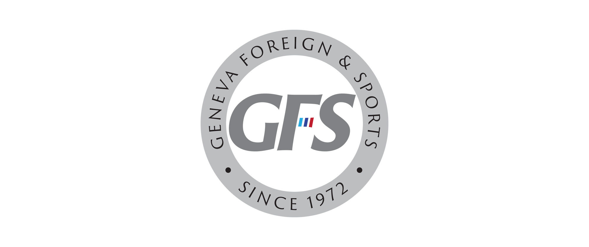 Geneva Foreign And Sports Circle Logo Identity