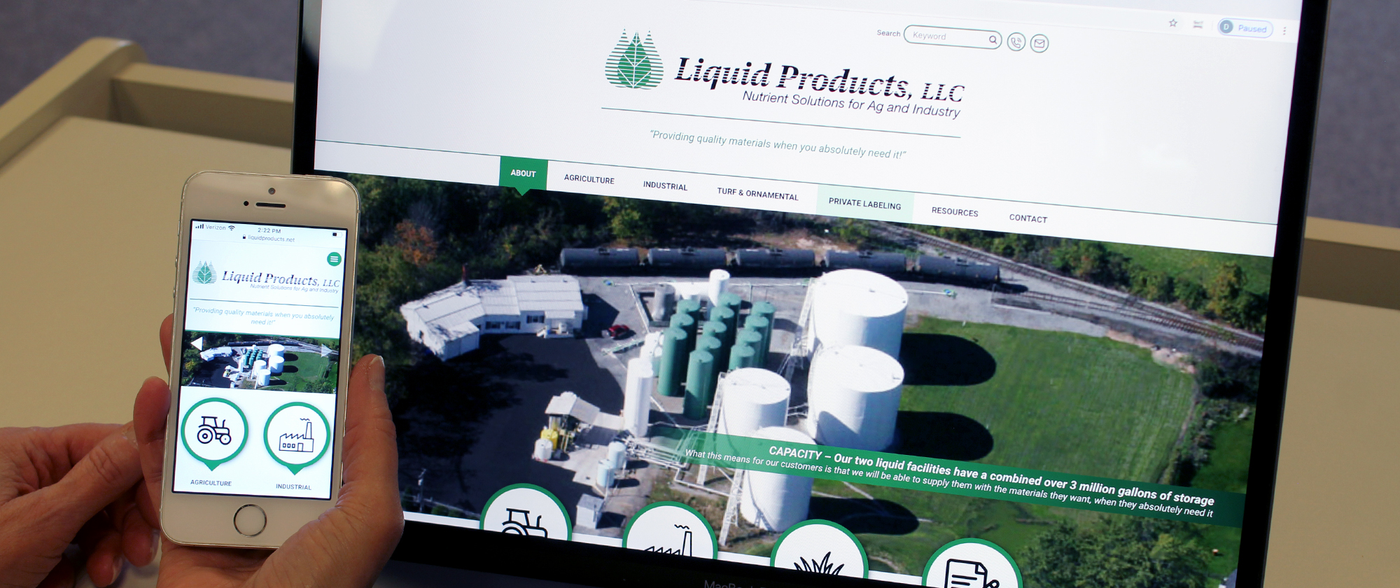 liquidproducts website