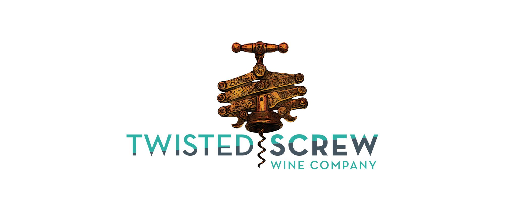 Twisted Screw Wine Cellars Logo