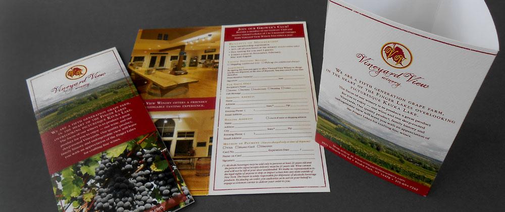 Vineyard View Winery brochure