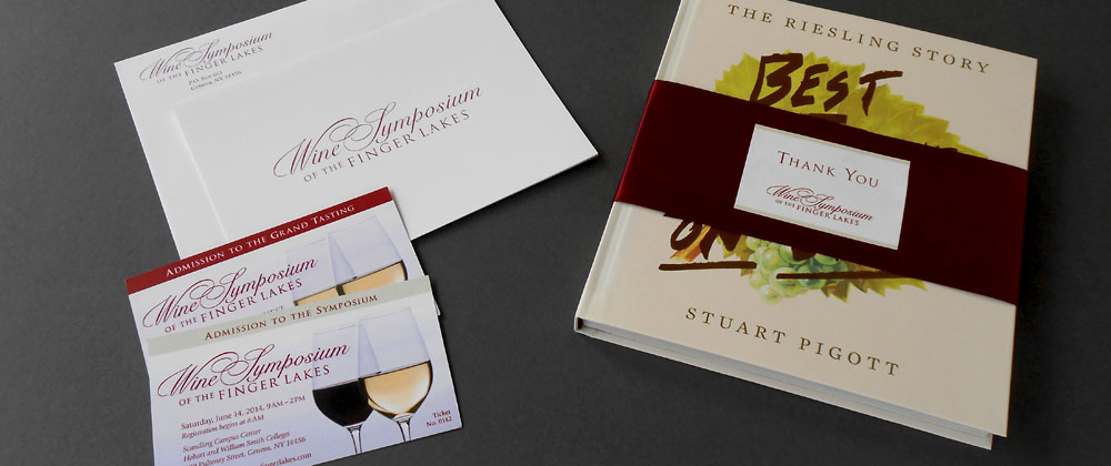 wine symposium thank you tickets bookwrap